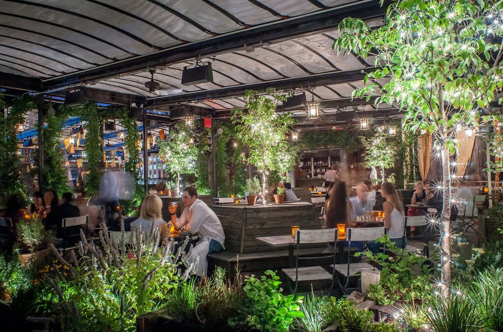 The coolest outdoor bars for this summer