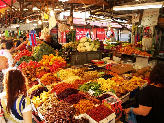 The complete list of markets in Tel Aviv